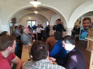 Stadtteilgespräch der CSU in Frauenberg – Charakter der Stadtteile erhalten